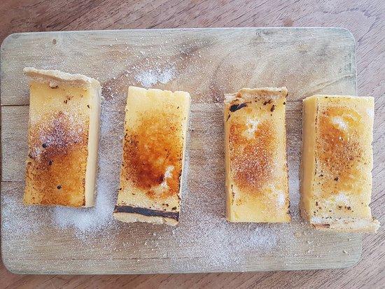 Markinch, UK: Totally delicious lemon pie