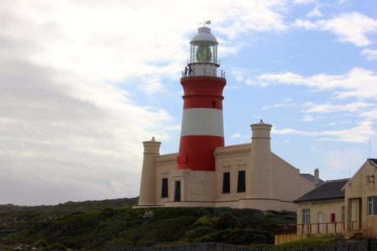 Cape Agulhas, Sudáfrica: the 19th C lighthouse