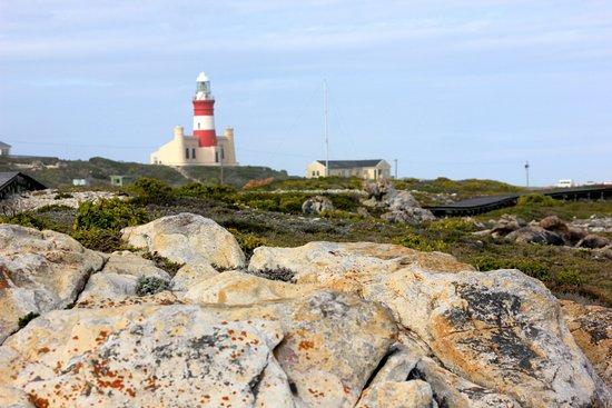 Cape Agulhas, Sudáfrica: set back from the shore