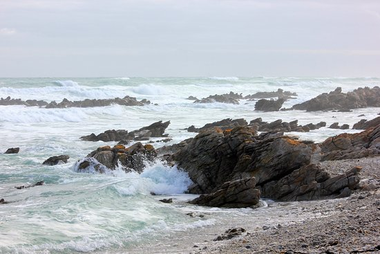 Cape Agulhas, Sudáfrica: the most southerly point of Africa