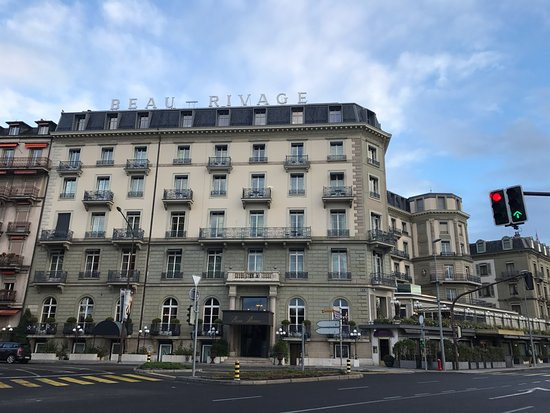 Hotel Beau-Rivage Geneva: Front view