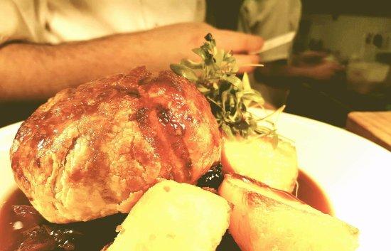Markinch, UK: Beouf en croute