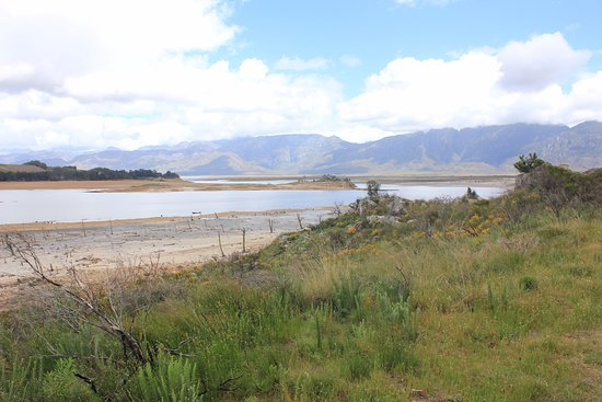 Franschhoek Pass: drought in the Cape