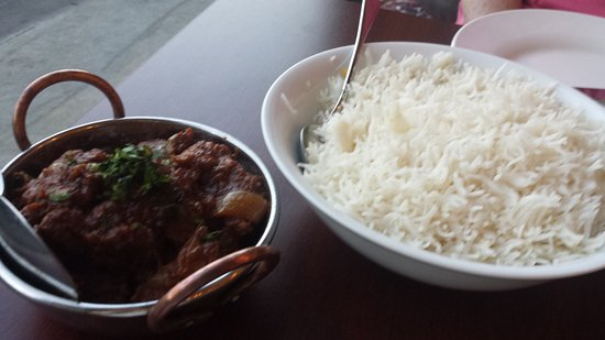 Moonee Ponds, Australia: Chilli beef with rice
