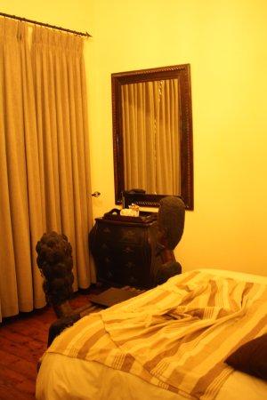 Greater Addo, South Africa: preciosa decoración de la habitación.