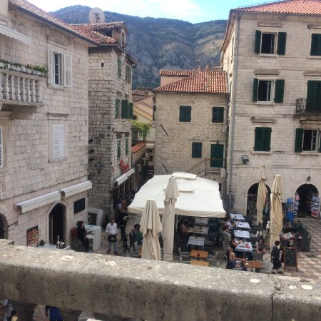 Montenegro Hostel Kotor: View from our balcony!