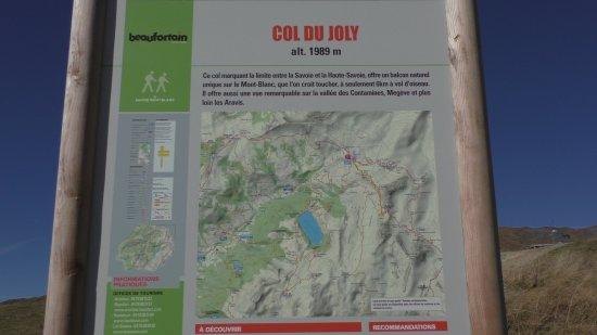 Hauteluce, France: Col du Joly