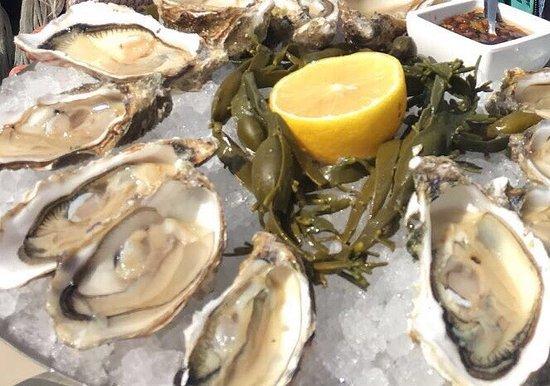 Hotel New York: Proefbord oesters voor 4 personen