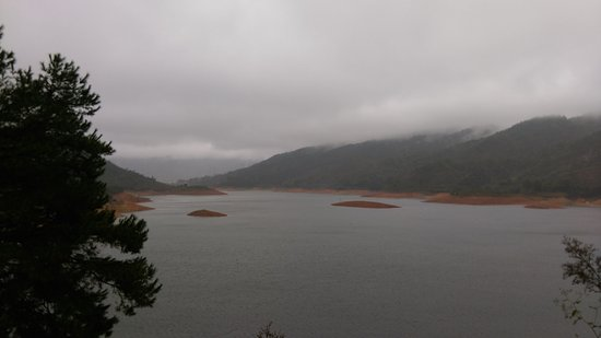 Lianzhou, Китай: Just a small section of the vast reservoir