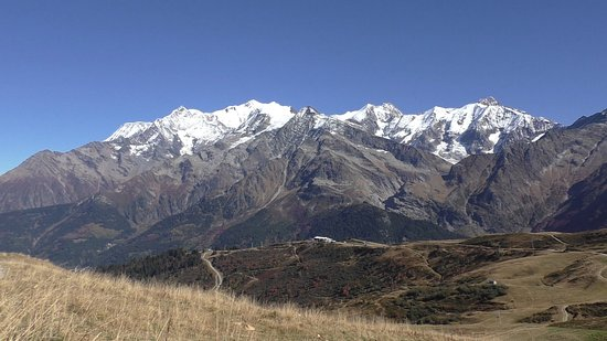 Hauteluce, France: Col du Joly - Massif du Mt Blanc