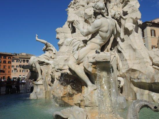 Photo of Outdoors and Recreation Fontana dei Quattro Fiumi at Piazza Navona, Roma 00186, Italy