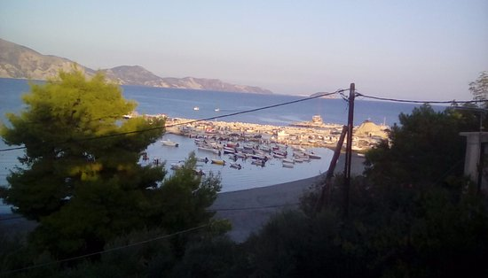 Lithakia, Grecia: View from terrace