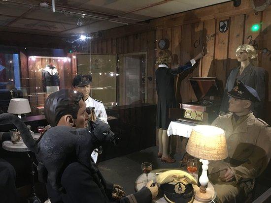Le Bunker de La Rochelle : Le bar où les sous-mariniers prenait du bon temps