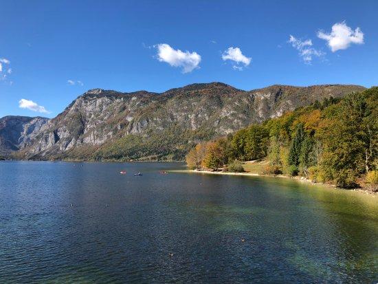 Bohinjsko Jezero, Slovenia: Lago Bojinh