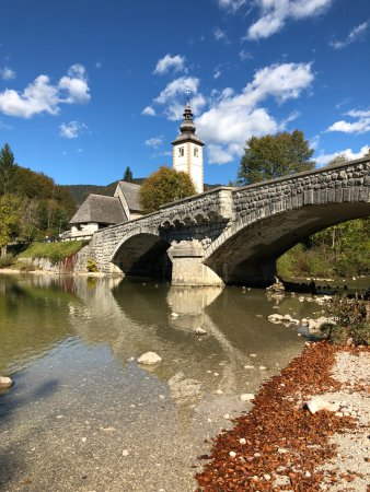 Bohinjsko Jezero, Σλοβενία: Inglesia de San Juan Bautista
