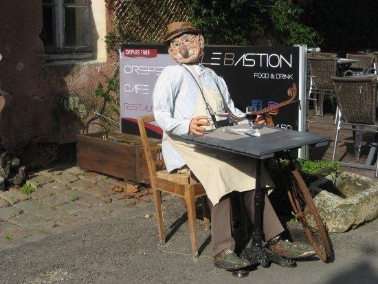 Blaye, France: Touriste immortalisé !