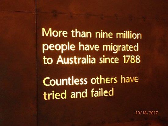 พิพิธภัณฑ์ผู้อพยพ: statistics
