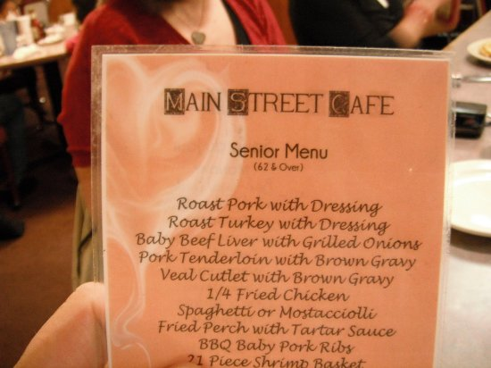 Watertown, WI: Just a pic of the name and menu... :)