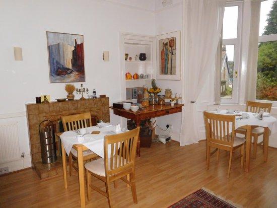 Failte Bed & Breakfast : Breakfast room