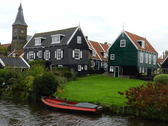 Marken, เนเธอร์แลนด์: le centre du village