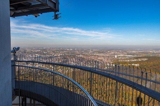 Television Tower: Blick von der oberen Aussichtsplattform Richtung Osten