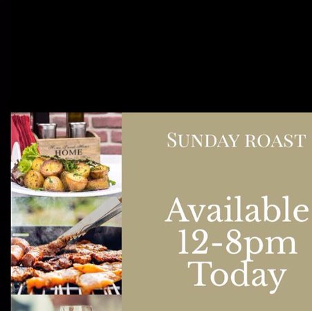 Chestfield, UK: Sunday Roasts are available