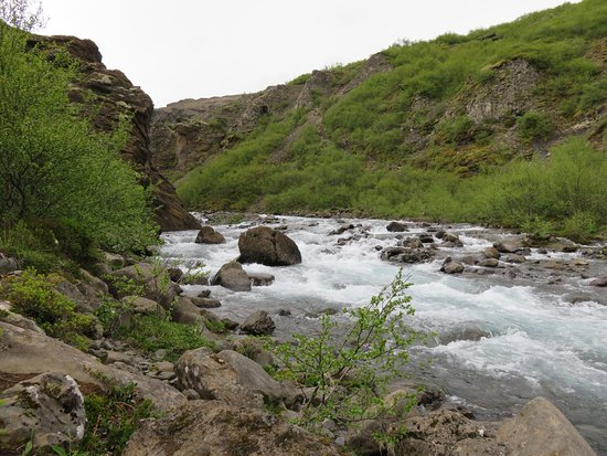 Akranes, Iceland: The river