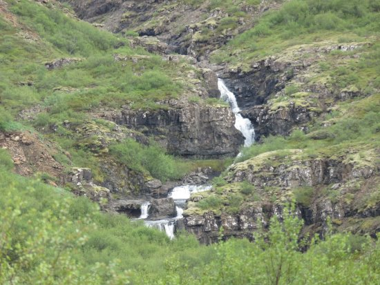 Akranes, Iceland: The Glymur Waterfall