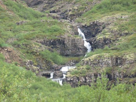 Akranes, Islandia: The Glymur Waterfall