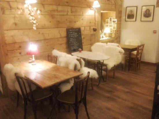 Hauteluce, France: notre salle de bar