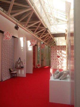 Jouy en Josas, ฝรั่งเศส: The mueum's entrance hall