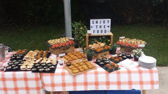 Sant Adria de Besos, إسبانيا: presentacion general de los platos