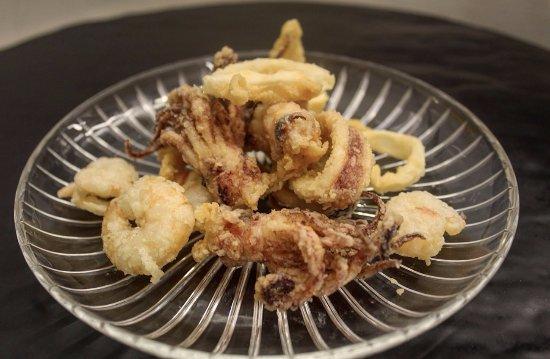 Trevi, Italia: Menù di pesce dal nostro ristorante