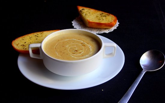 Earlston, UK: Home made soup