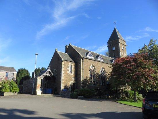 Fife, UK: the church
