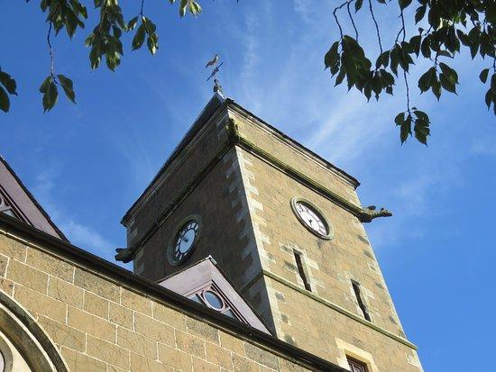 Fife, UK: clock tower