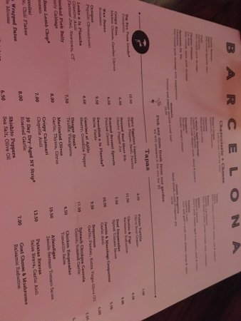 Fairfield, CT: Menu