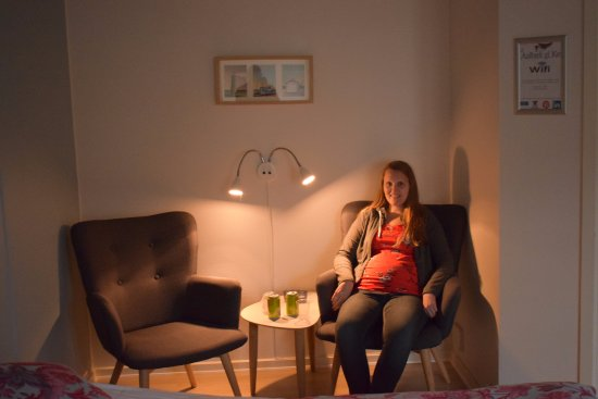 Albaek, الدنمارك: værelset