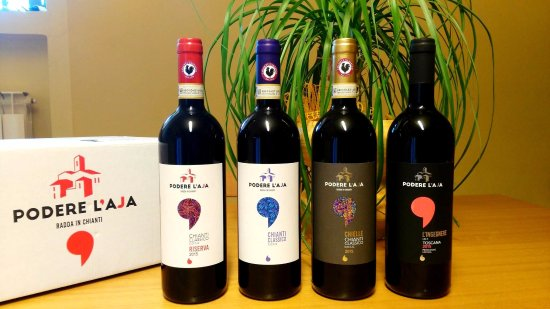 Podere L'Aja: our wines