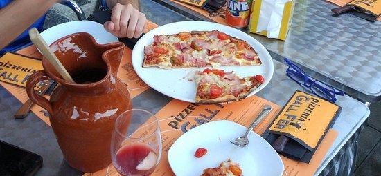 Rialp, Espanha: pizzeria gallfer