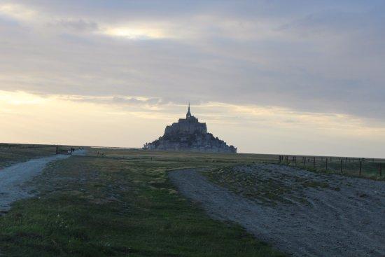 Huisnes sur Mer, Francia: Blick auf den Mont St. Michel