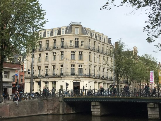 Banks Mansion: View from Across the Herengracht Canal
