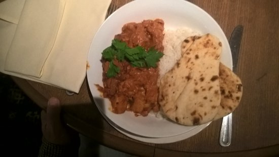 Craven Arms, UK: Curry