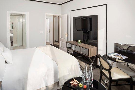 Habitacion Deluxe Deluxe Room Picture Of Melia Castilla Madrid