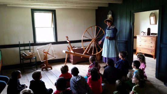 Staunton, VA: Spinning yarn was just one element of textile production on the frontier