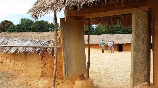 Staunton, VA: The West African Farm shows a typical lifestyle in West Africa during the 1700's