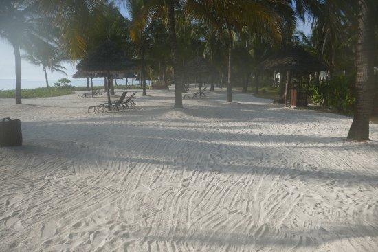Baraza Resort & Spa: Each villa has a reserved / designated cabana