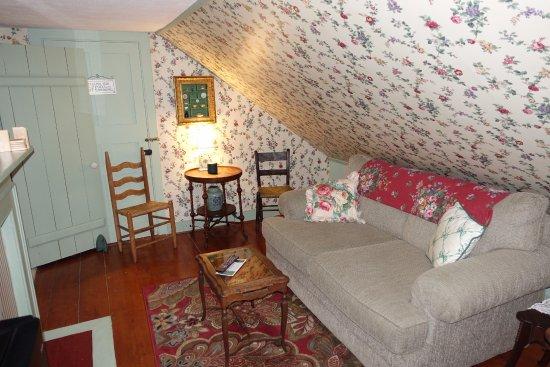 Trenton, ME: Wohnbereich Suite 3