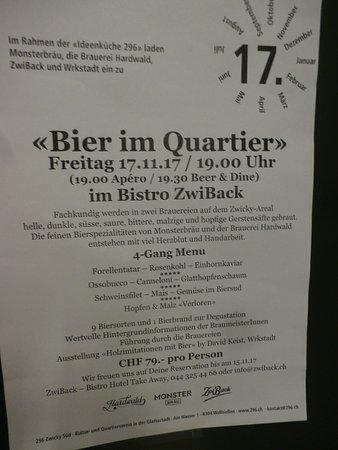 Wallisellen, Ελβετία: Special events poster