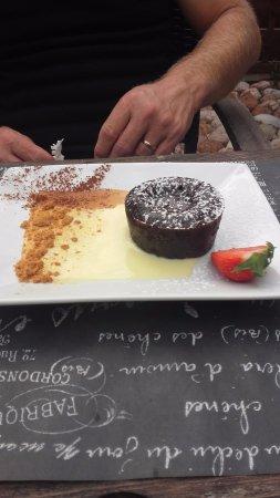Hourtin, ฝรั่งเศส: fondant chocolat